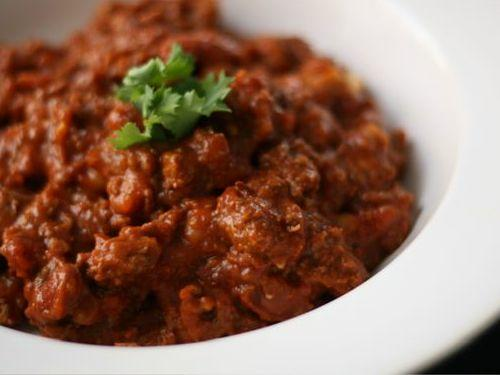 high protein beef chili