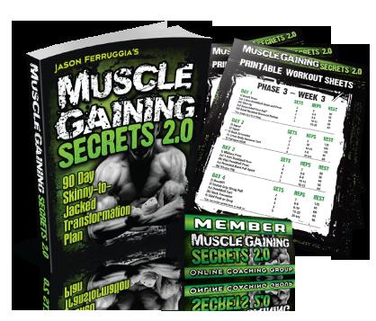 muscle gaining secrets program