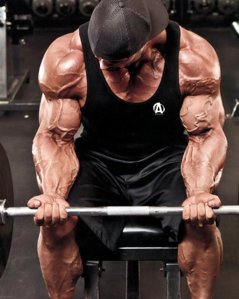 Frank McGrath forearms