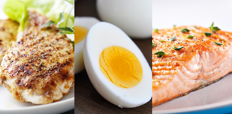 protein foods listed