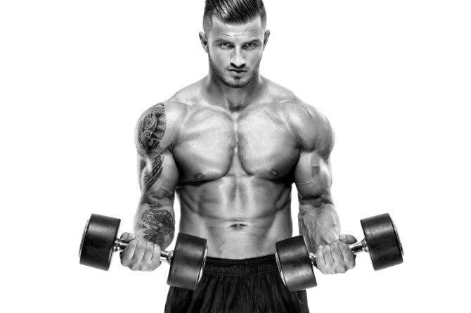 vegan bodybuilder training